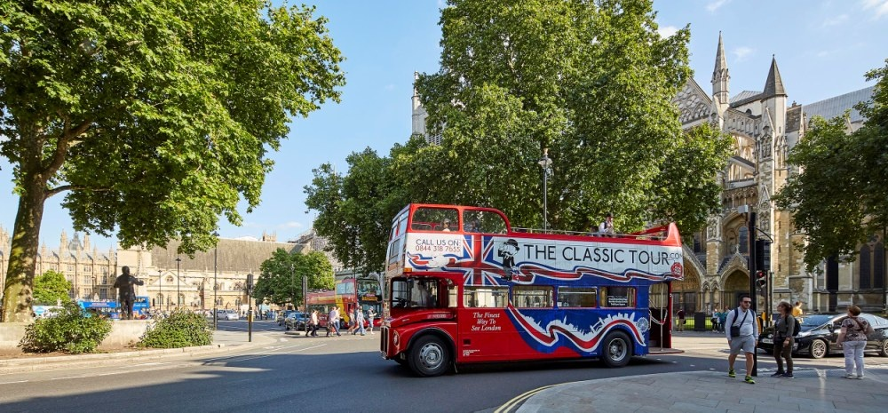 Classic Sightseeing Bus Tour of London-3