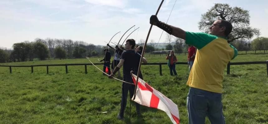 Medieval Longbow Archery Lesson In Essex