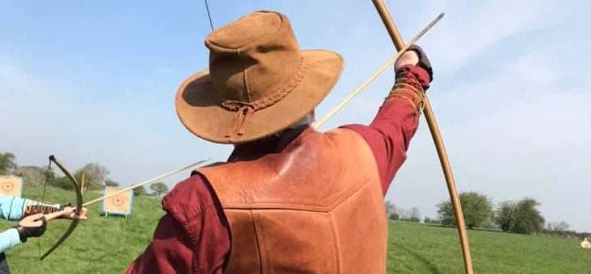 Medieval Longbow Archery Lesson in Essex-2