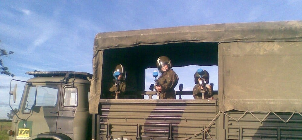 Childrens Military Vehicle Party-2
