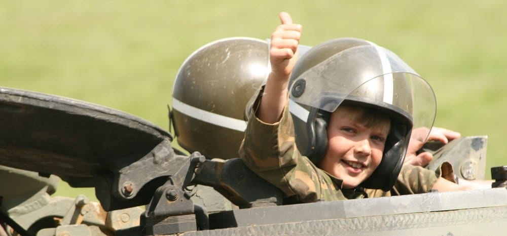 Childrens Military Vehicle Party-1
