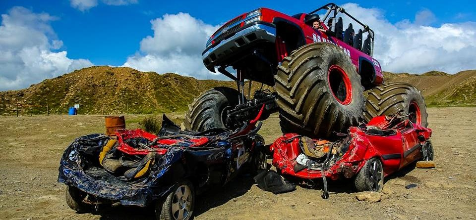 Weekday Monster Truck Experience in Shropshire-2