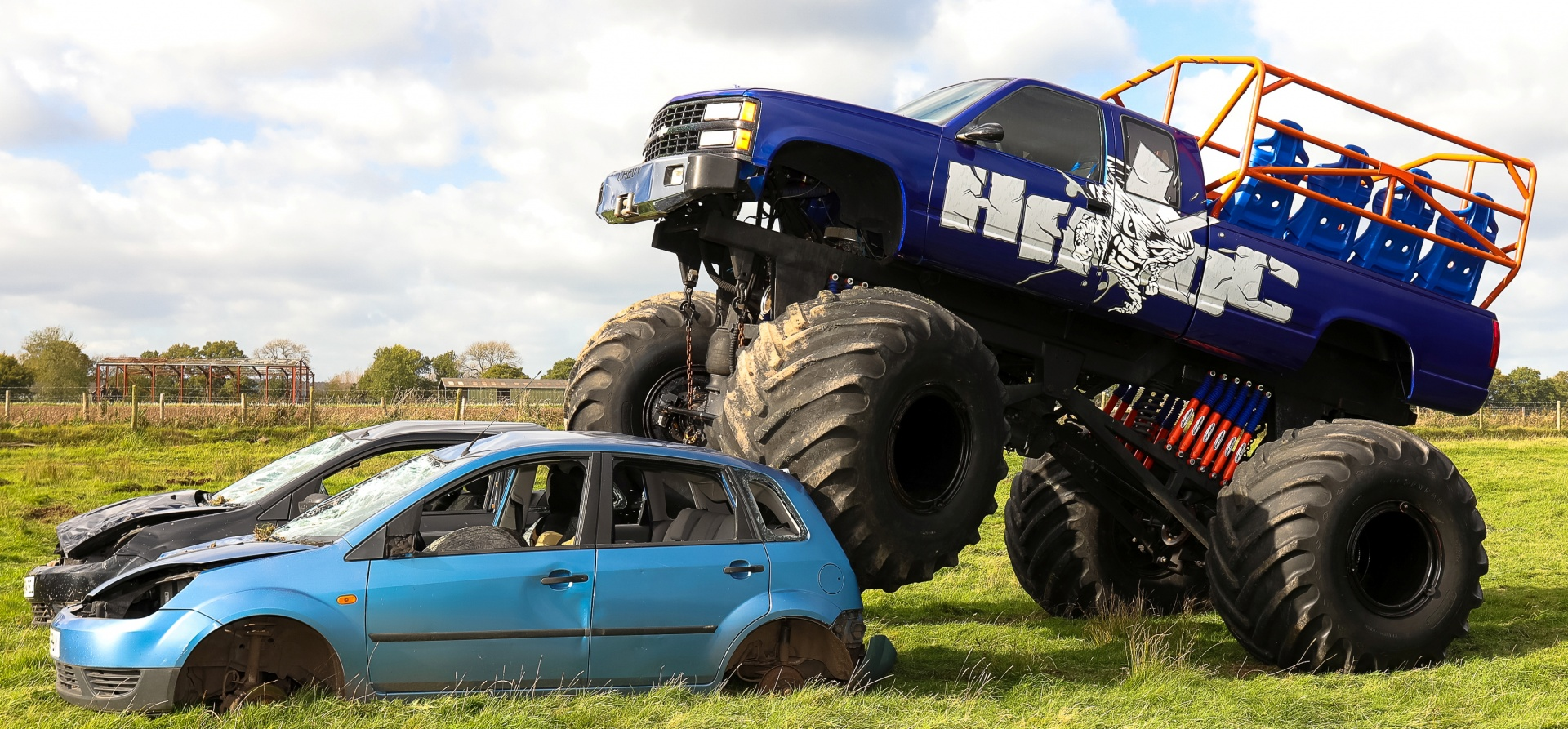 Weekday Monster Truck Experience in Shropshire-4