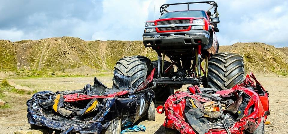 Weekday Monster Truck Experience in Shropshire-5