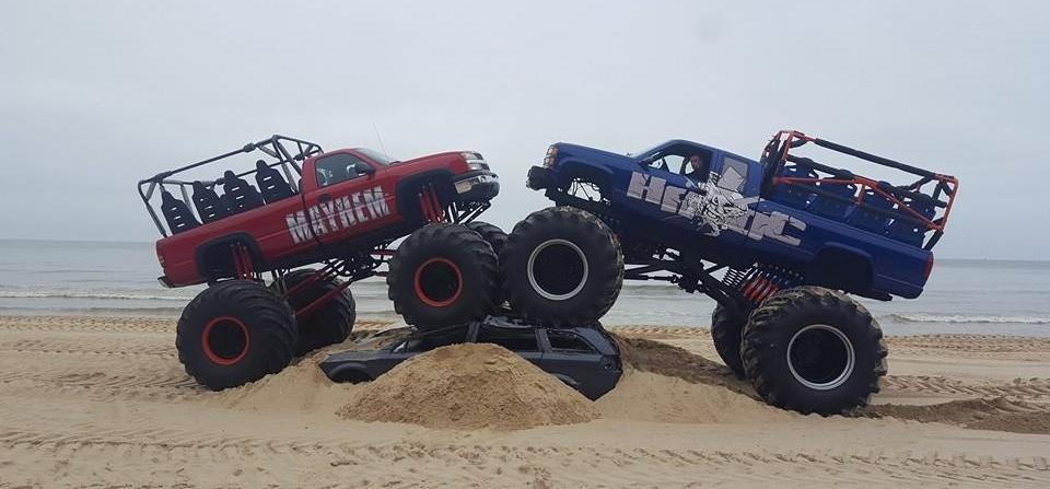 Weekday Monster Truck Experience in Shropshire-1