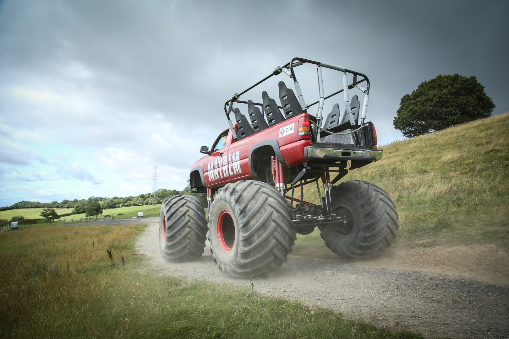 Weekday Monster Truck Experience in Shropshire-7