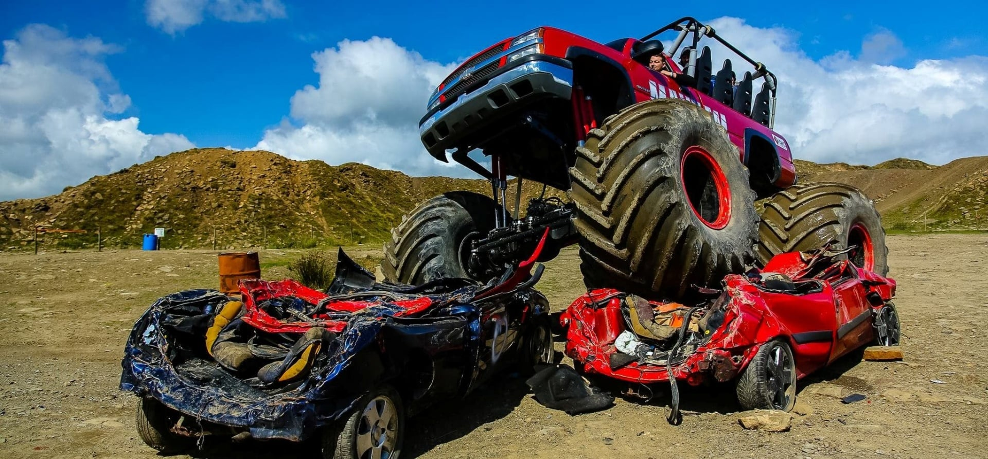 Family Monster Truck Passenger Ride Experience-5