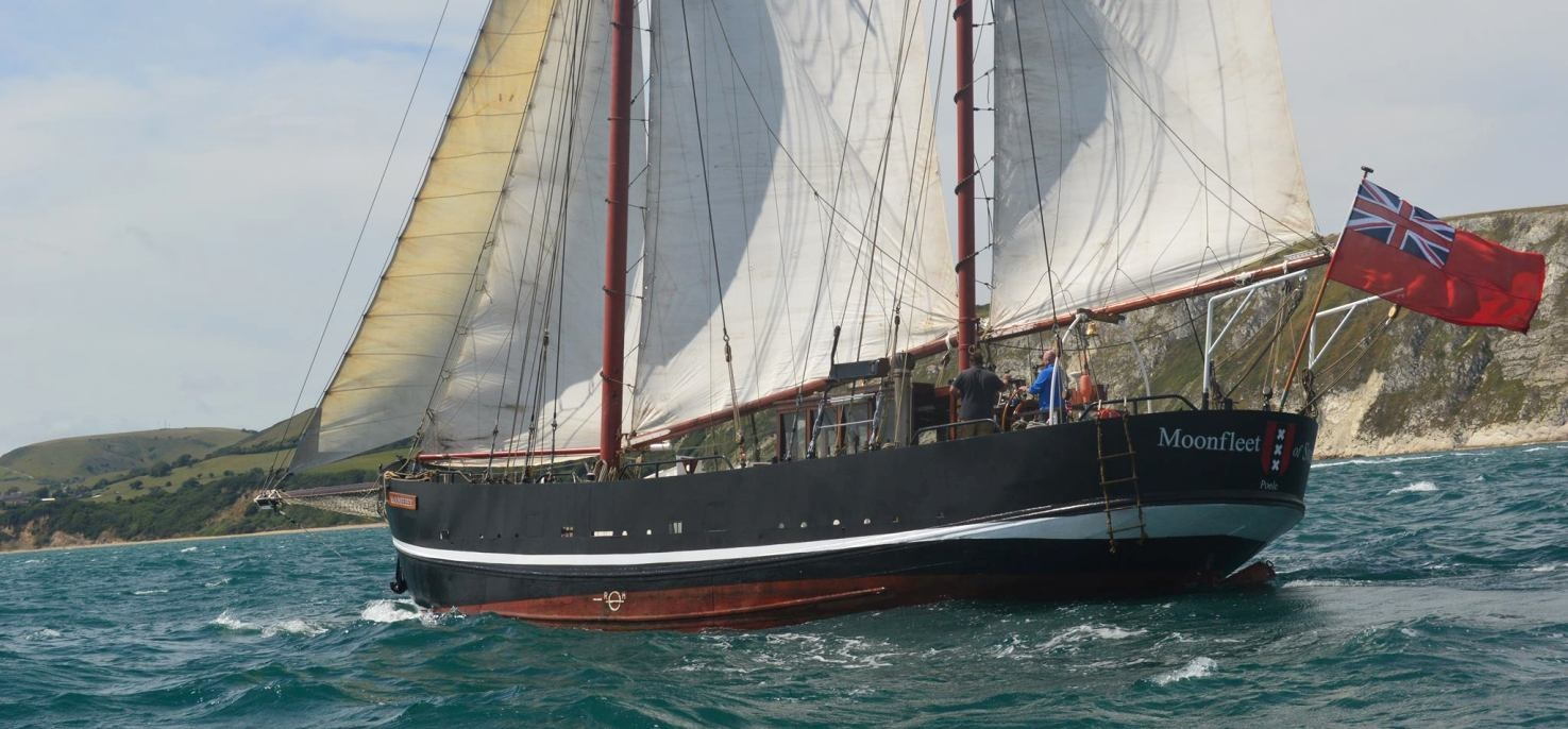 Two Hour Tallship Sailing Experience in Dorset-1