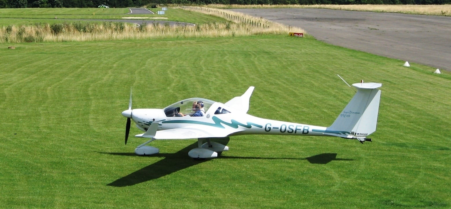 One Hour Motor Glider Trial Flight in Oxfordshire-5