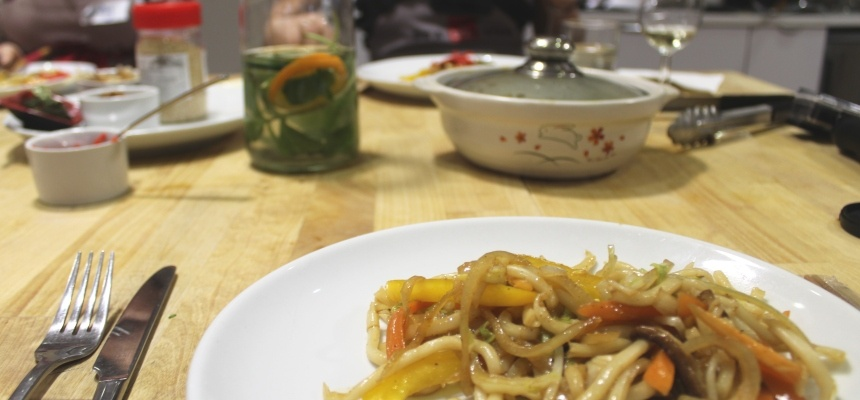 Japanese Cuisine Cookery Class in London-7