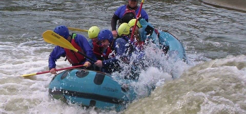 White Water Rafting Experience for 2 - Man Made Course-2
