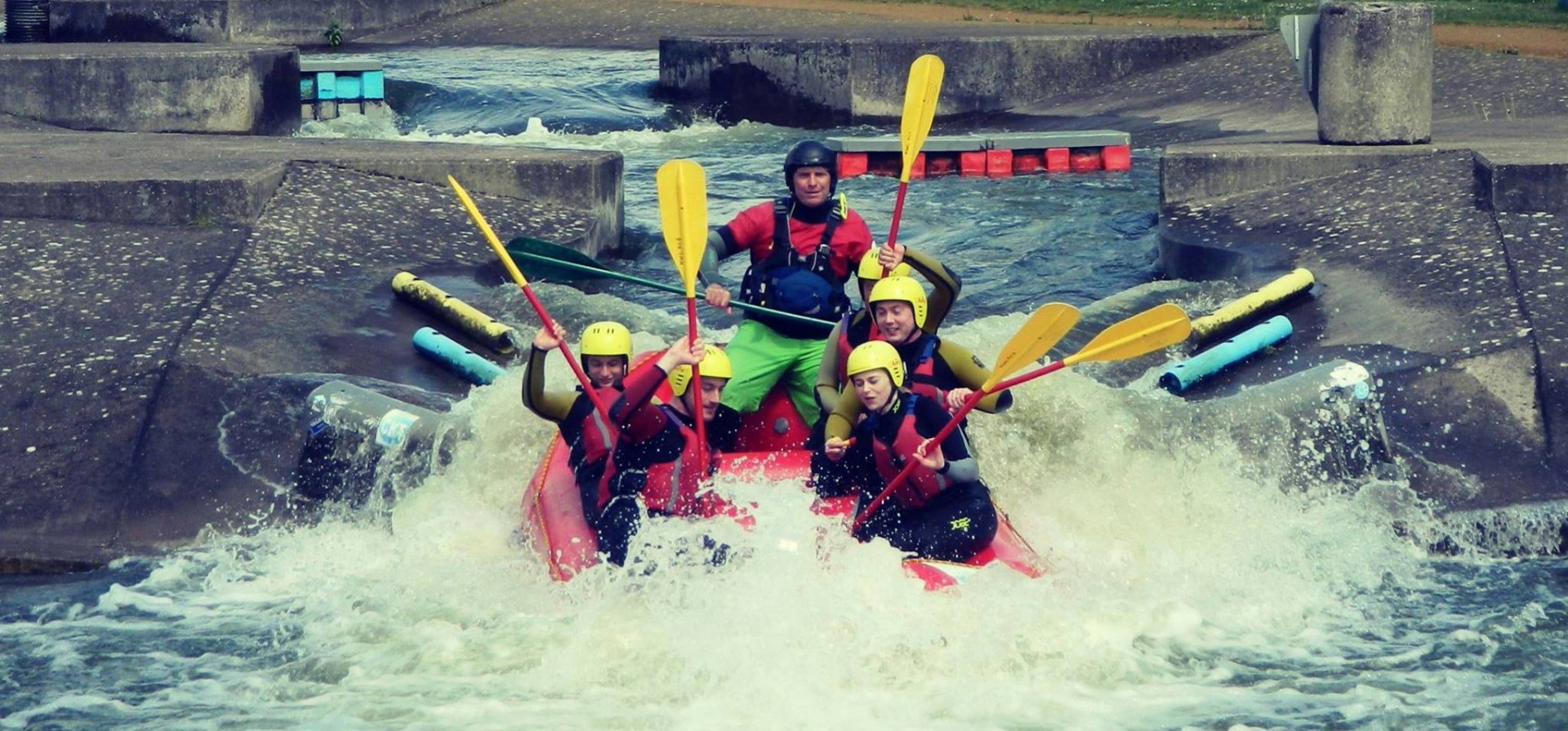 White Water Rafting Experience for 2 - Man Made Course-5