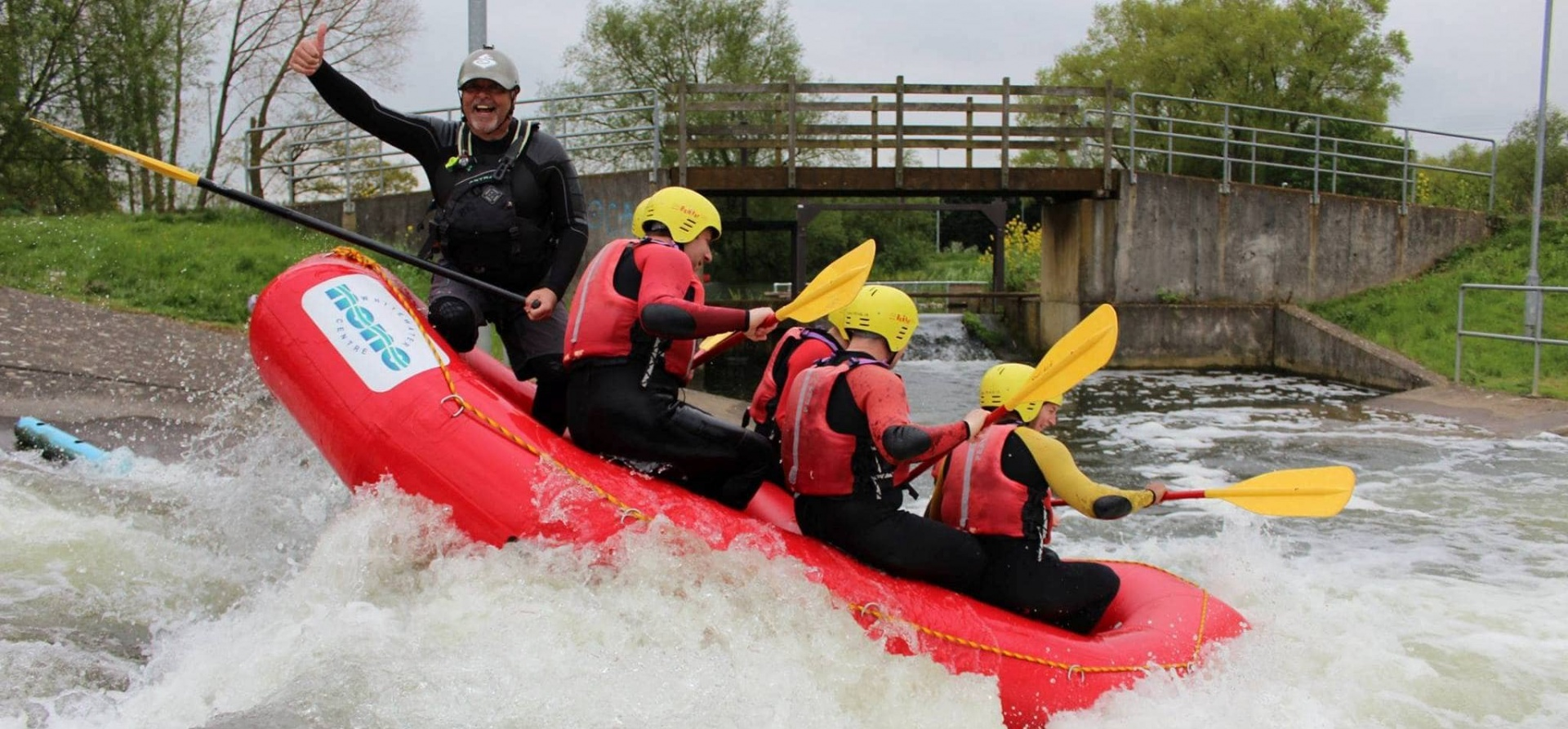 White Water Rafting Experience for 2 - Man Made Course-1