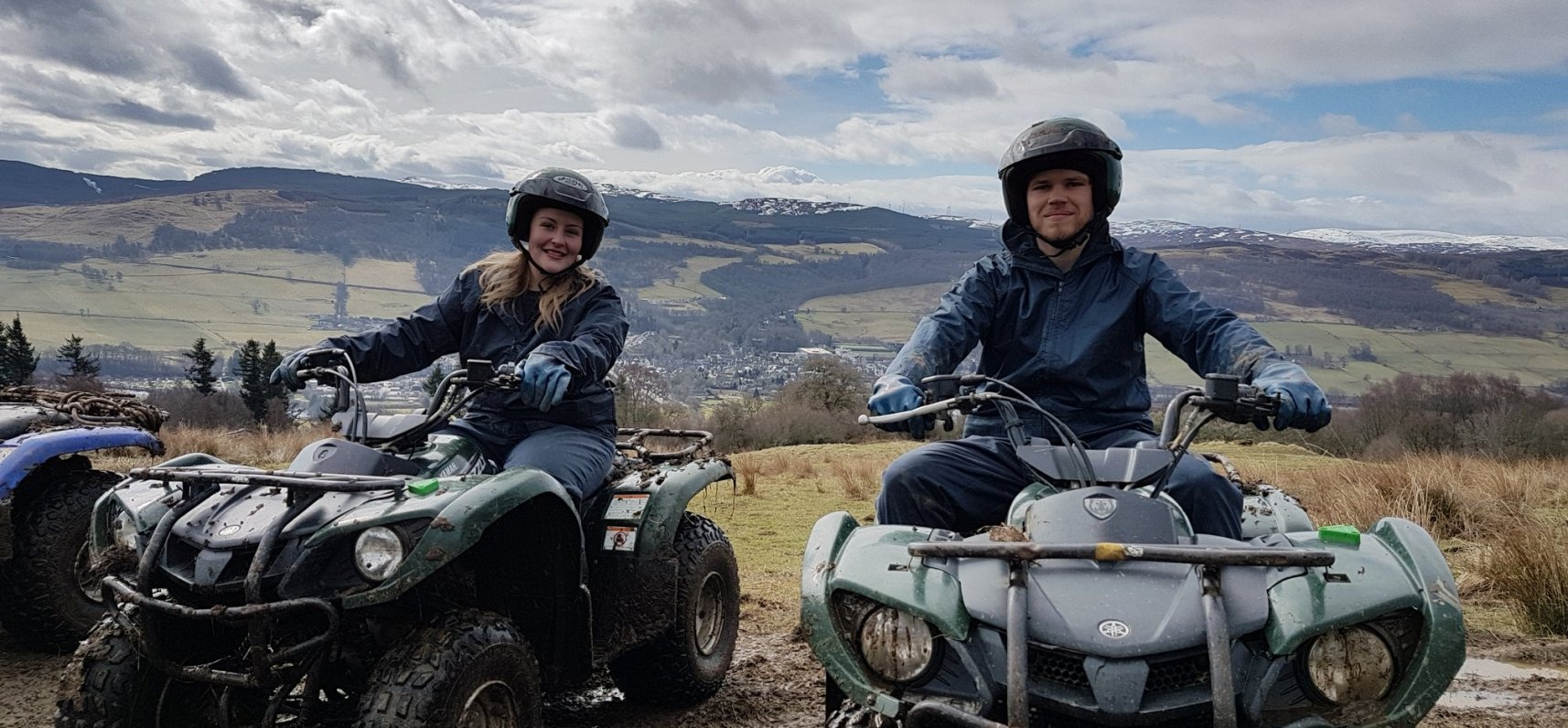 Quad Bike Experience Scotland 1 Hour-1