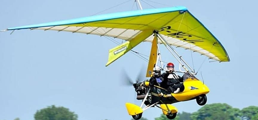 One Hour Microlight Flight Experience - East Yorkshire
