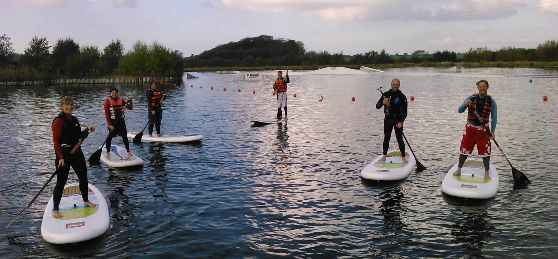 One Hour SUP Experience in Blackpool-1