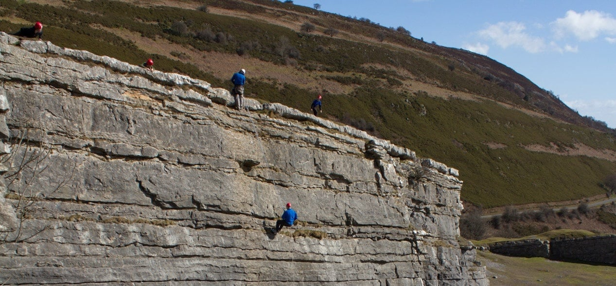 Climbing And Abseiling Experience - North Wales-3