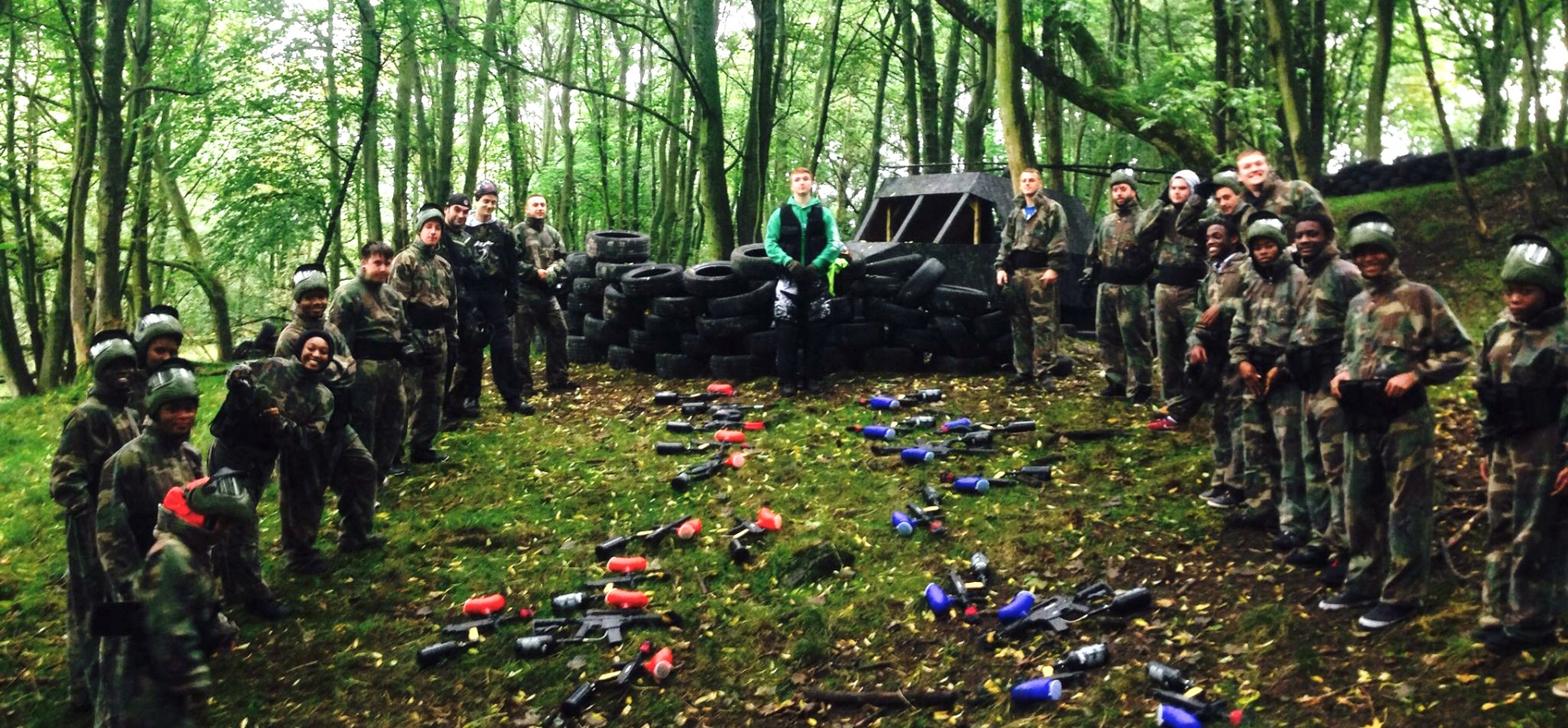 Half Day Paintballing Experience - Leeds-1