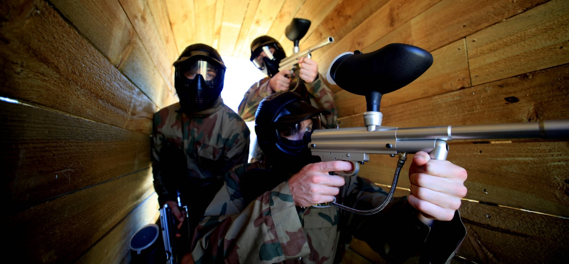 Full Day Paintballing Experience plus 100 Paintballs pp-1