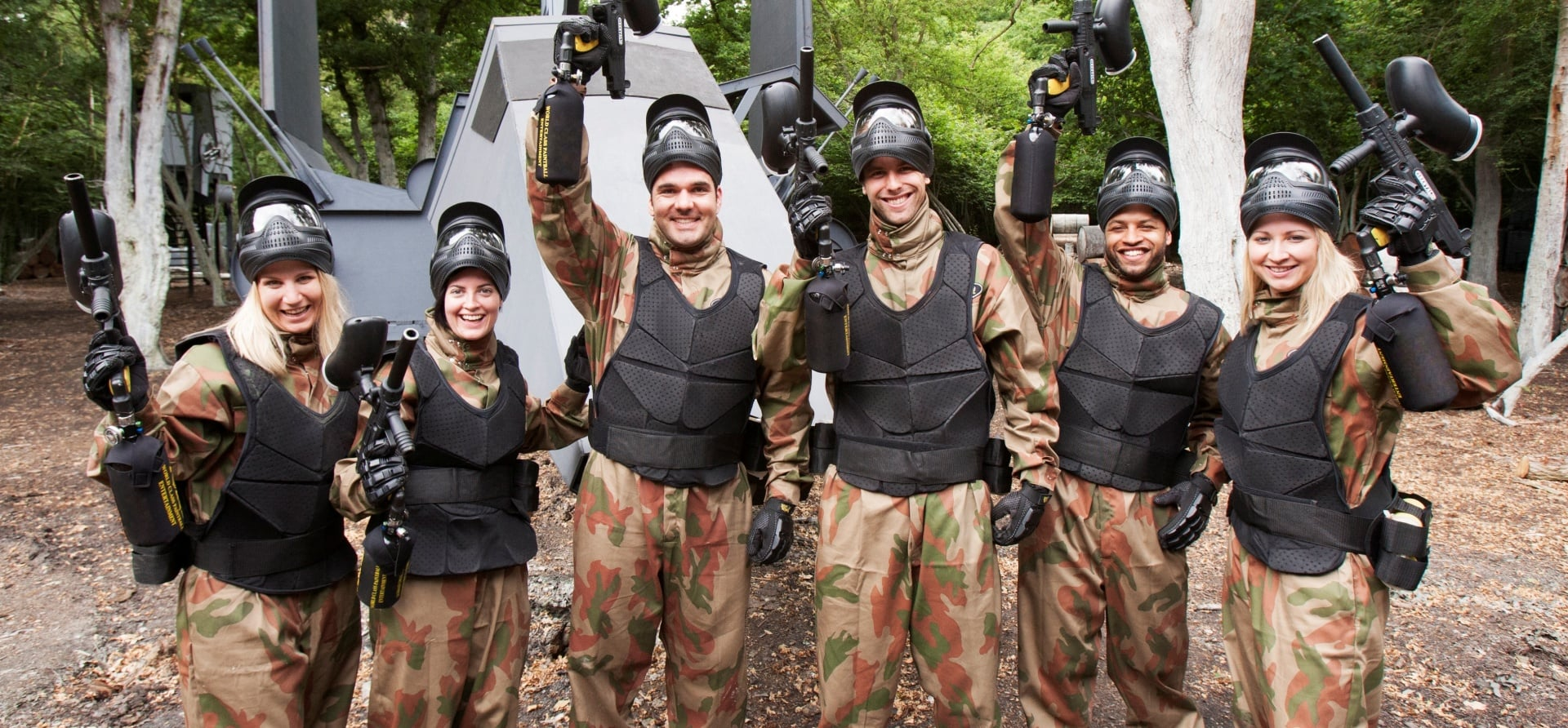 Full Day Paintballing Experience plus 100 Paintballs pp-6