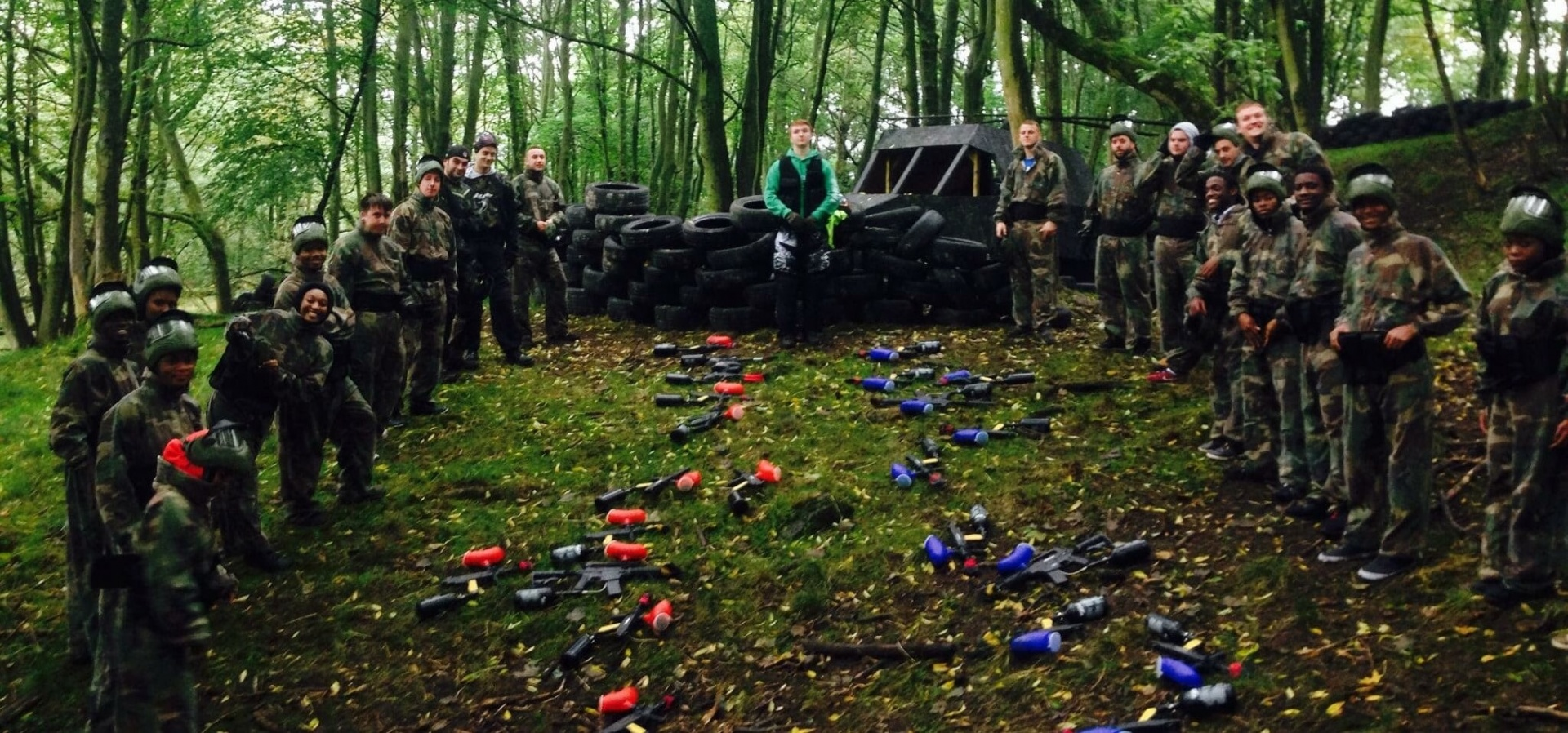 Full Day Paintballing Experience - Leeds-3