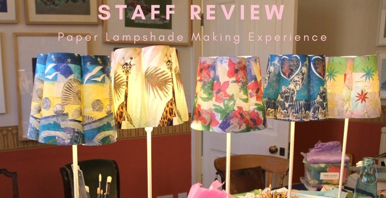 Staff Review: Paper Lampshade Making Experience