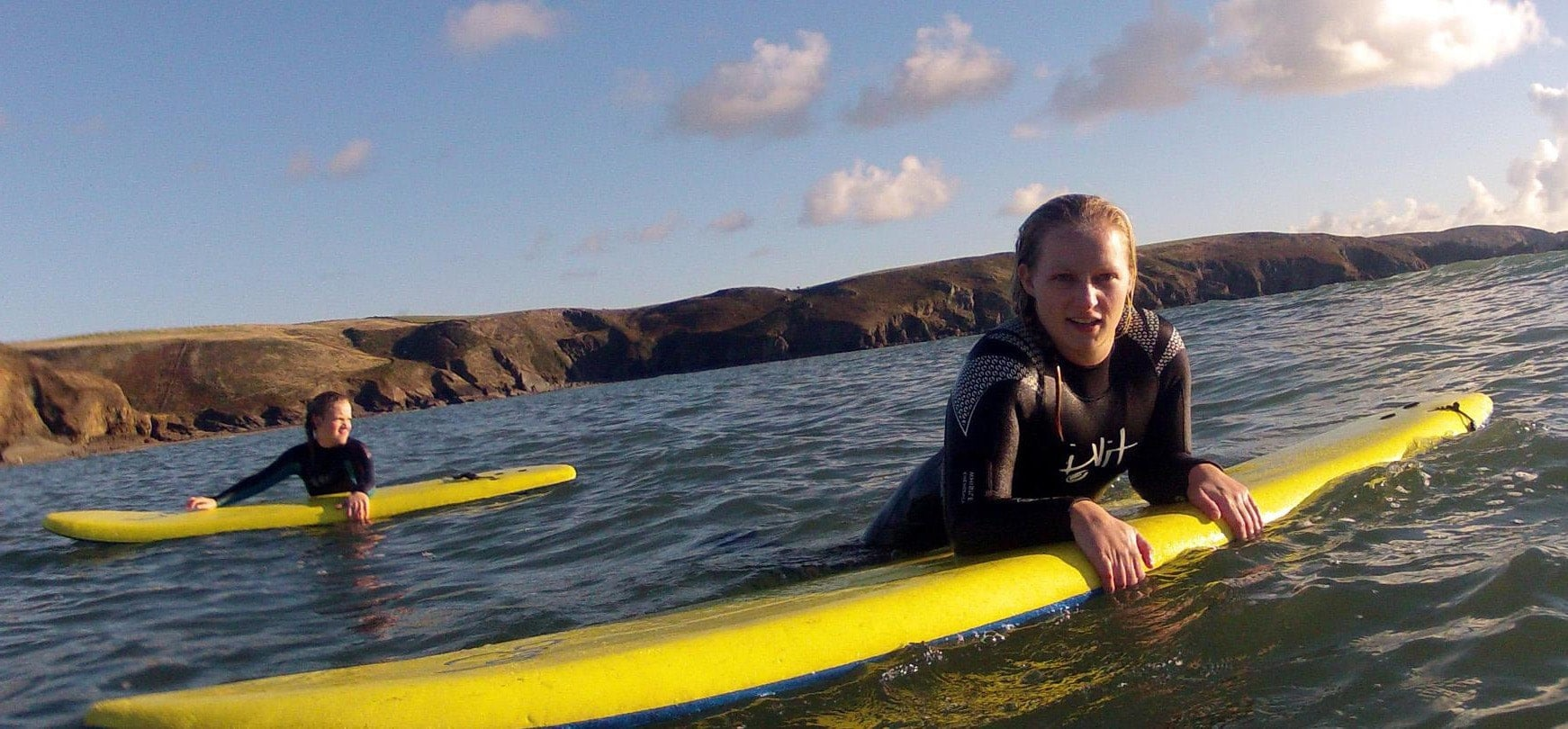 Surfing Lesson In Pembrokeshire - Half Day