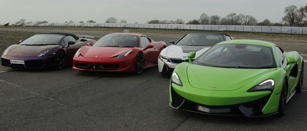 Five Platinum Supercar Driving Thrill With Hot Lap-4