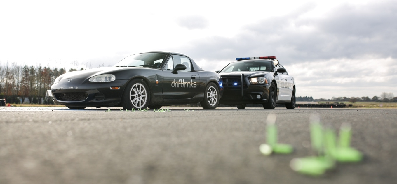 High Speed Police Chase Driving Experience – Mazda MX5-6