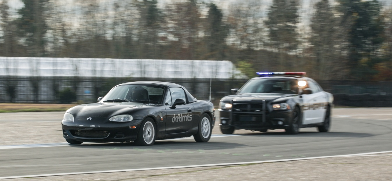 High Speed Police Chase Driving Experience – Mazda MX5-7