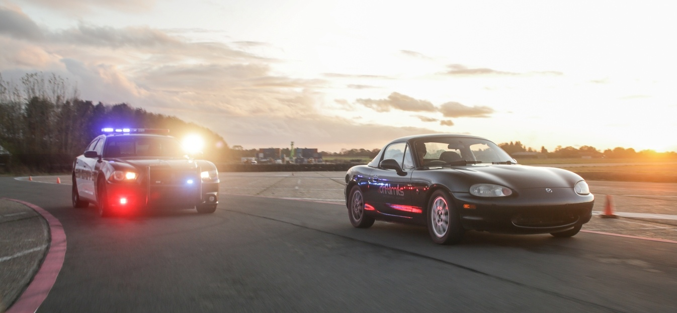 High Speed Police Chase Driving Experience – Mazda MX5-5