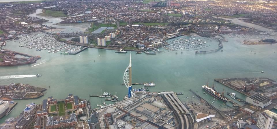 20 Minute Portsmouth Coast And City Helicopter Tour
