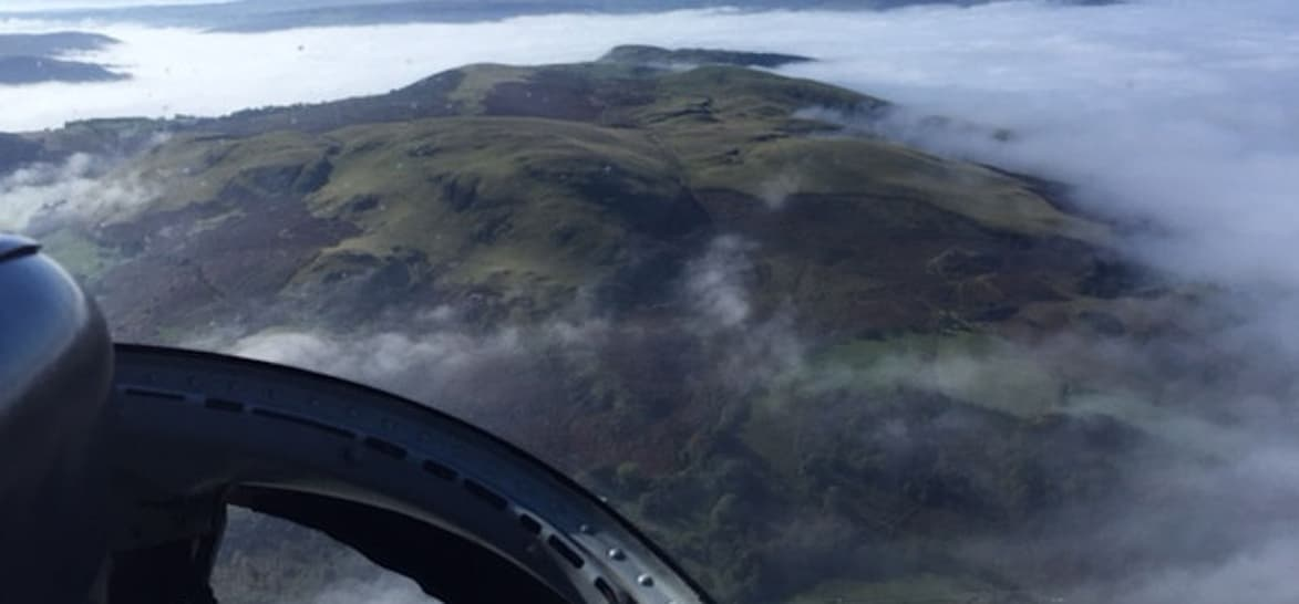 10 Minute Powys Helicopter Flight Tour