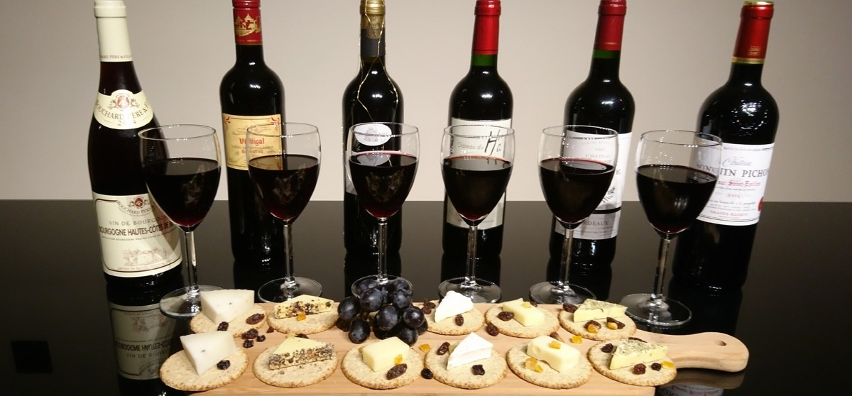 Vintage And Estate Red Wine And Cheese Tasting For Two