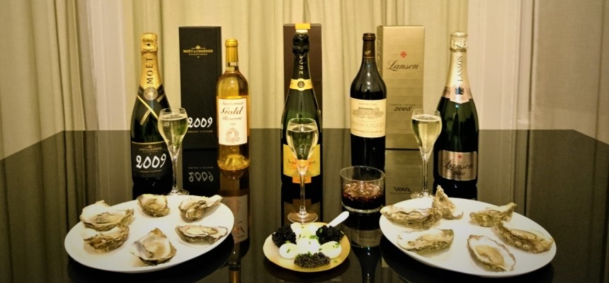 Private Premium Caviar  Vintage Champagne Wine  Cheese And Truffles Tasting