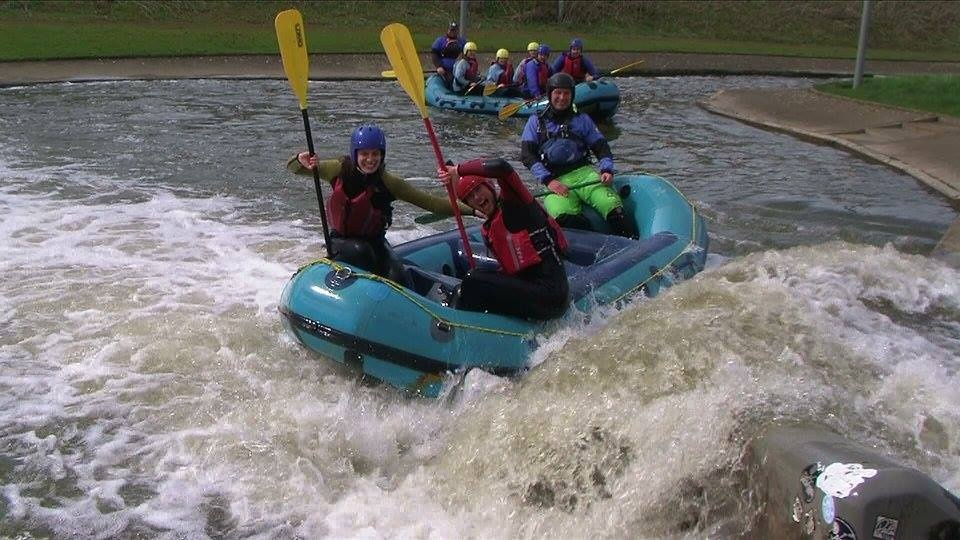 White Water Rafting Experience for 2 - Man Made Course-4