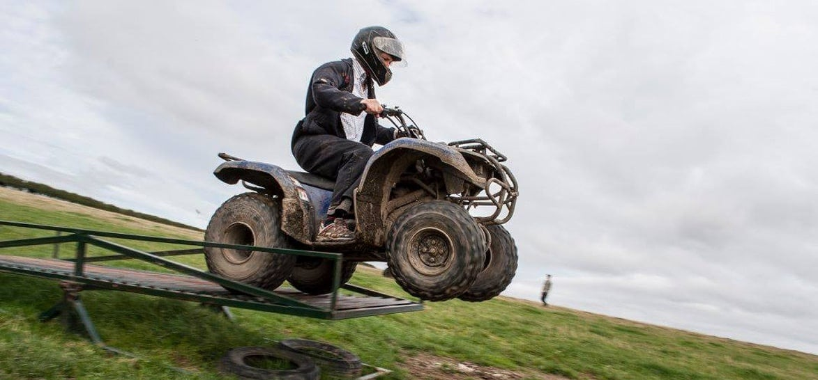 One Hour Quad Bike Trek - Durham-1