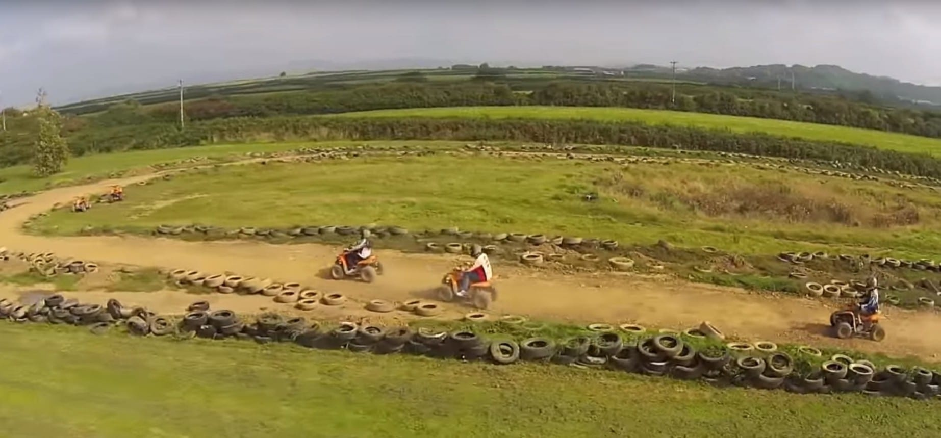 Quad Bike Racing Experience in Wales-3