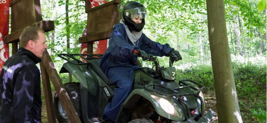 Ultimate Quad Biking and Axe Throwing Experience for Two-6