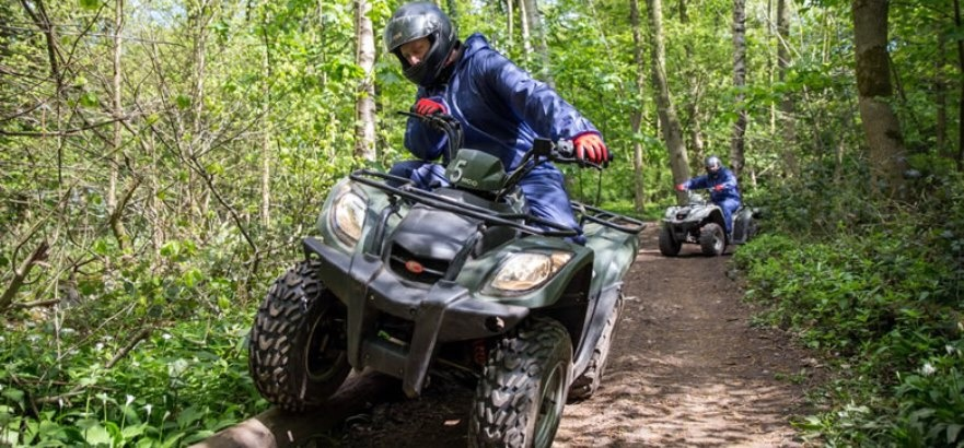 Quad Biking And Axe Throwing Experience For Two