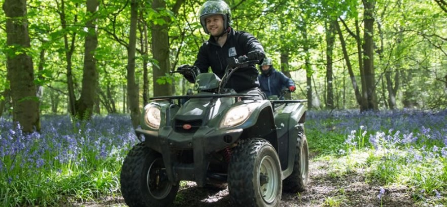 Ultimate Quad Biking and Axe Throwing Experience for Two-2