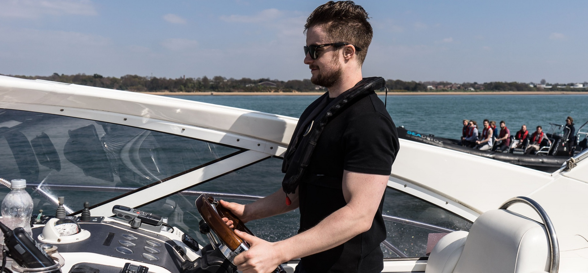 RIB And Cruiser Boating Experience Southampton-5