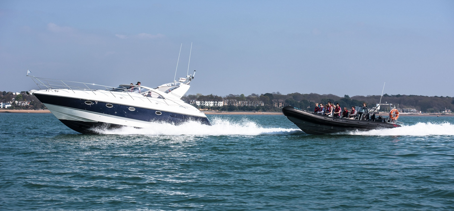 RIB And Cruiser Boating Experience Southampton-1