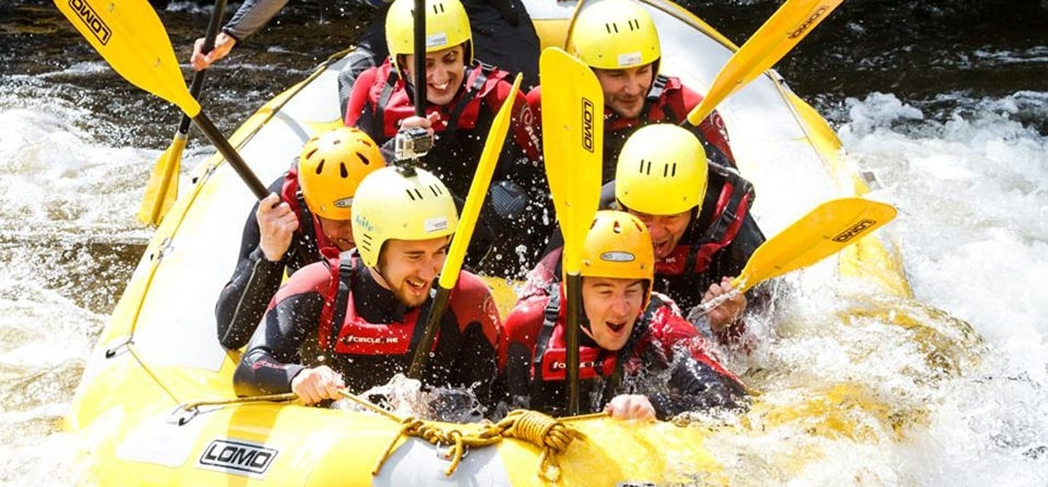 White Water Rafting Experience - North Wales-2