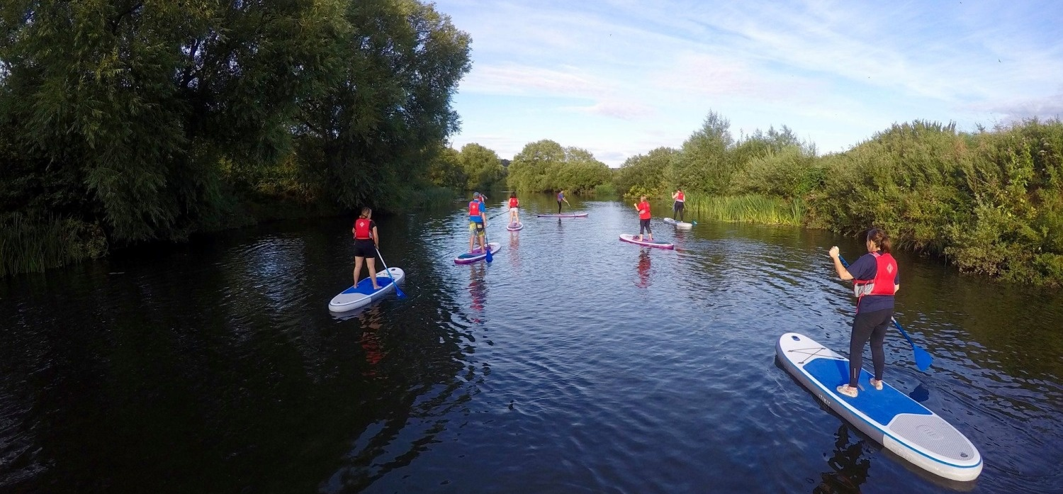 River Avon Stand Up Paddleboarding Experience-2