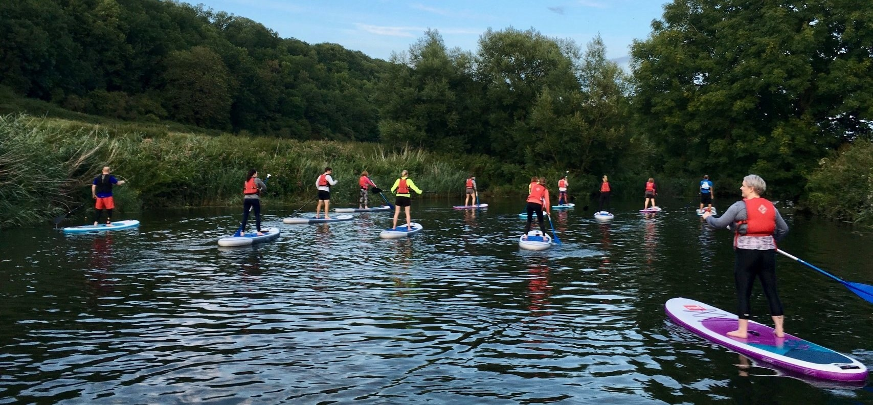 River Avon Stand Up Paddleboarding Experience-4