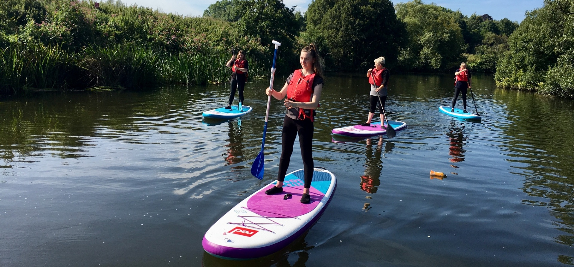 River Avon Stand Up Paddleboarding Experience-1