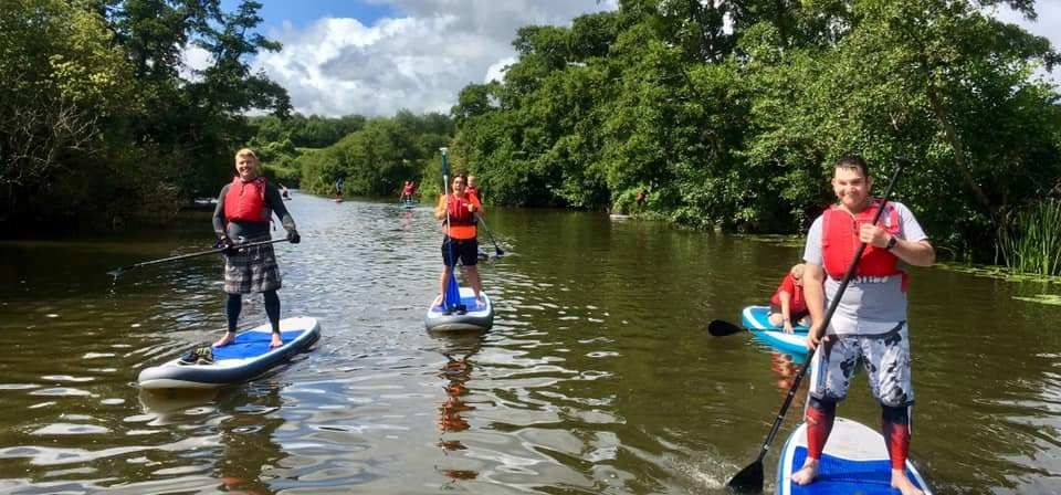 River Avon Stand Up Paddleboarding Experience-3