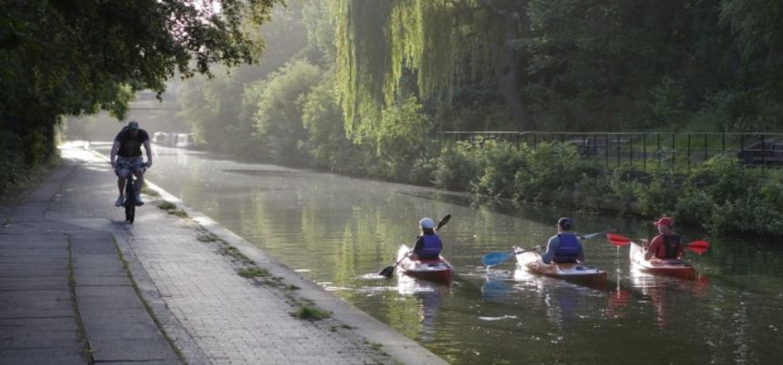 2for1 - Regents Canal Kayaking - London-1