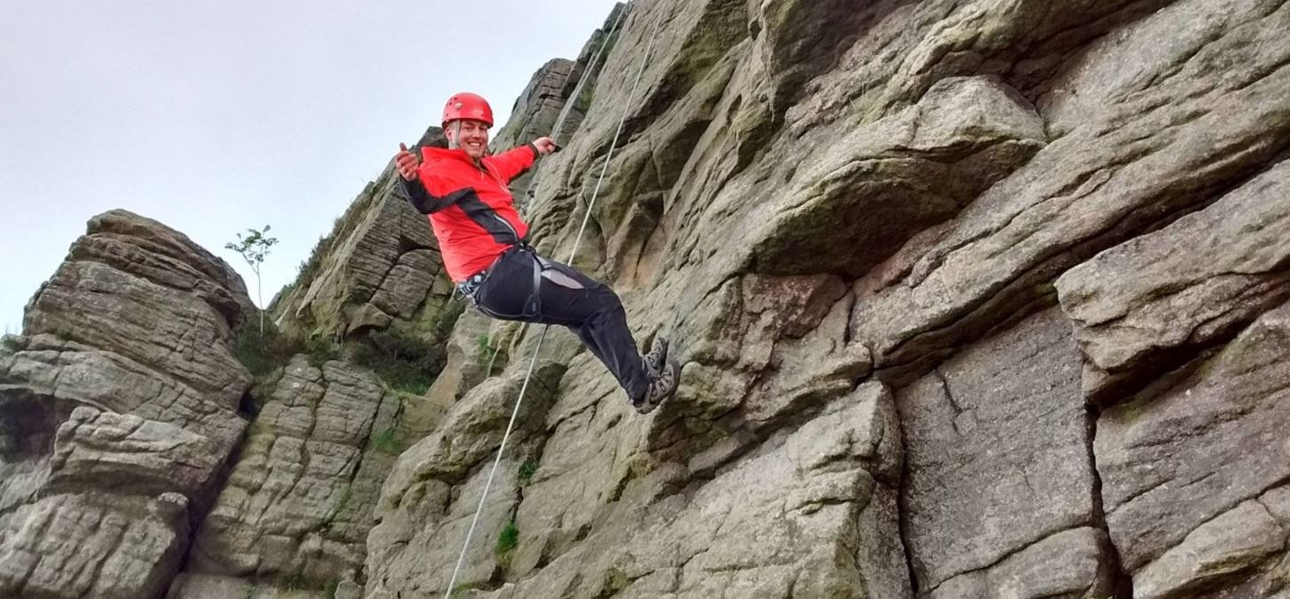 Beginners Rock Climbing And Abseiling Experience In